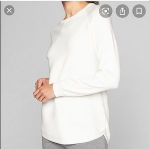 ATHLETA Daybreak CYA sweater dove SZ Sm